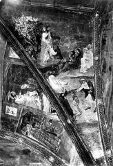 Palais des Papes - Peinture murale
