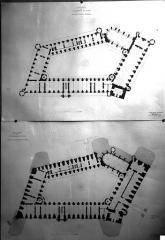Domaine national de Saint-Germain-en-Laye, actuellement Musée des Antiquités Nationales - Projet de restauration : Plans