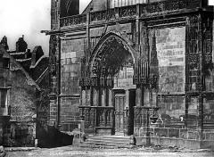 Eglise Saint-Martin (ancienne collégiale) - Portail ouest