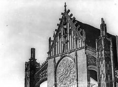 Eglise Saint-Martin (ancienne collégiale) - Pignon