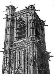 Eglise Saint-Martin (ancienne collégiale) - Tour, partie haute