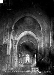 Eglise - Choeur, vue de l'entrée
