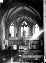 Eglise Saint-Hilaire - Choeur