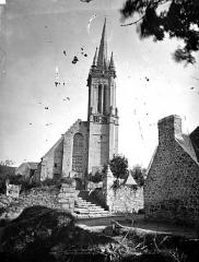 Eglise Saint-Jean-Baptiste - Façade ouest