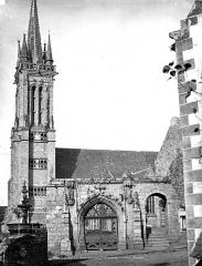 Eglise Saint-Jean-Baptiste - Eglise et porte d'entrée du cimetière