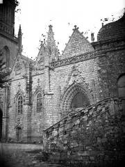 Eglise Notre-Dame-de-Quelven et abords - Eglise, partie sud
