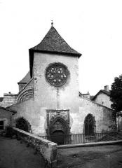 Ancien prieuré Saint-Martin d'Ambierle - Eglise, façade ouest