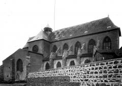 Ancien prieuré Saint-Martin d'Ambierle - Eglise, façade sud