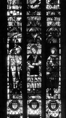 Ancien prieuré Saint-Martin d'Ambierle - Eglise, verrières