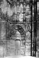 Ancienne cathédrale Saint-Etienne - Portail ouest