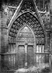 Ancienne cathédrale Saint-Etienne - Portail sud