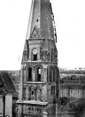 Abbaye Saint-Germain - Eglise, clocher