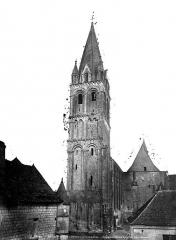 Eglise abbatiale Saint-Pierre-Saint-Paul - Clocher