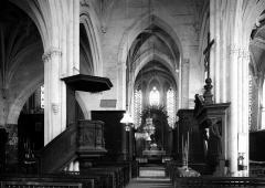 Eglise Saint-Georges - Nef, vue de l'entrée