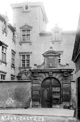 Hôtel de Nayrac - Porte sur rue