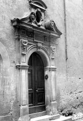 Hôtel de Nayrac - Porte, vue diagonale