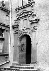Hôtel de Nayrac - Porte sur cour