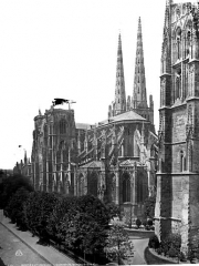Cathédrale Saint-André - Ensemble sud-est