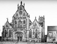 Ancienne abbaye de Brou - Eglise, ensemble ouest