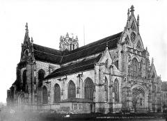 Ancienne abbaye de Brou - Eglise, ensemble nord-ouest