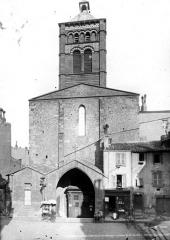 Eglise Notre-Dame-du-Port - Façade ouest