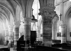 Eglise Notre-Dame de l'Assomption - Nef, bas-côté sud