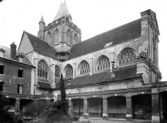 Ancienne abbaye Saint-Taurin - Façade nord