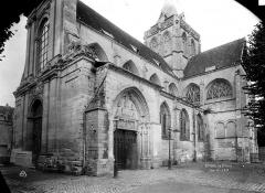 Ancienne abbaye Saint-Taurin - Façade sud-ouest
