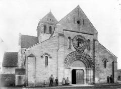 Eglise Sainte-Anne-de-Gassicourt - Façade ouest