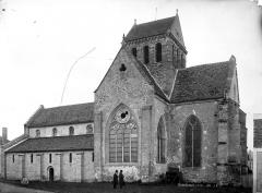 Eglise Sainte-Anne-de-Gassicourt - Façade sud