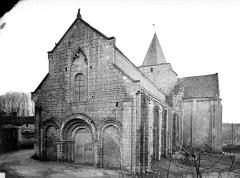 Eglise Saint-Jean-Baptiste - Façade nord-ouest