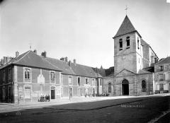 Eglise Notre-Dame-des-Ardents et Saint-Pierre - Façade ouest