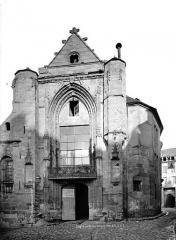 Eglise Saint-Furcy  : partie subsistante - Façade ouest
