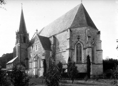 Ancienne abbaye Saint-Martin - Eglise, ensemble sud-est