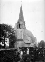 Ancienne abbaye Saint-Martin - Eglise, clocher