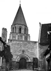 Ancienne collégiale Saint-Ours - Façade ouest