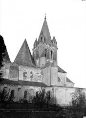 Ancienne collégiale Saint-Ours - Façade sud : partie est