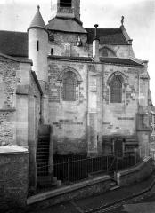 Eglise Saint-Martin - Abside, partie inférieure