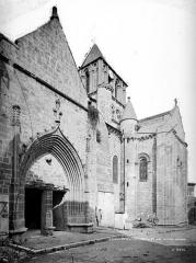 Eglise Notre-Dame-et-Saint-Junien - Façade ouest