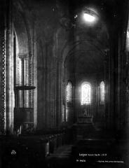 Eglise Notre-Dame-et-Saint-Junien - Nef, vue de l'entrée