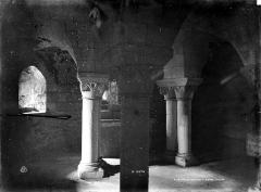 Eglise Notre-Dame-et-Saint-Junien - Crypte