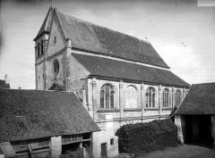 Eglise Saint-Martin - Façade nord