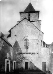 Ancienne église Saint-Savinien - Façade ouest