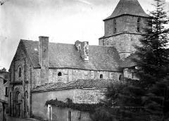 Ancienne église Saint-Savinien - Façade nord