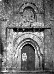 Eglise Saint-Hilaire - Portail ouest