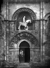 Eglise Saint-Hilaire - Portail nord