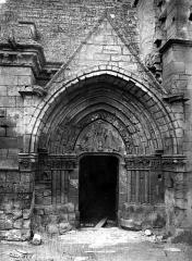 Eglise (ancienne église collégiale) - Portail