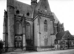 Eglise paroissiale Saint-Jean-Baptiste - Façade nord