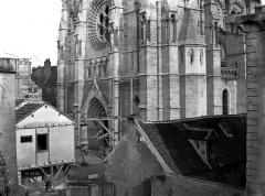 Cathédrale Notre-Dame - Façade ouest, partie inférieure
