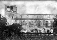 Eglise abbatiale Saint-Pierre - Façade sud